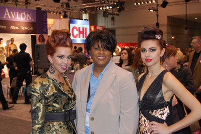 gail in chicago with models